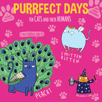 Purrfect Days Family Organiser