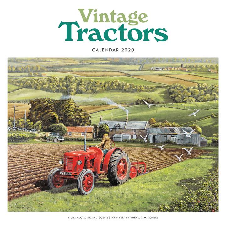 Wiro Calendar - Vintage Tractors