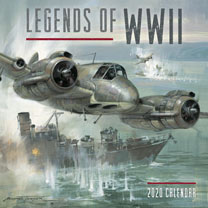 Legends of WW11 Wall Calendar