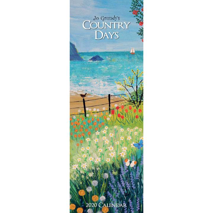 Country Days Slim Calendar