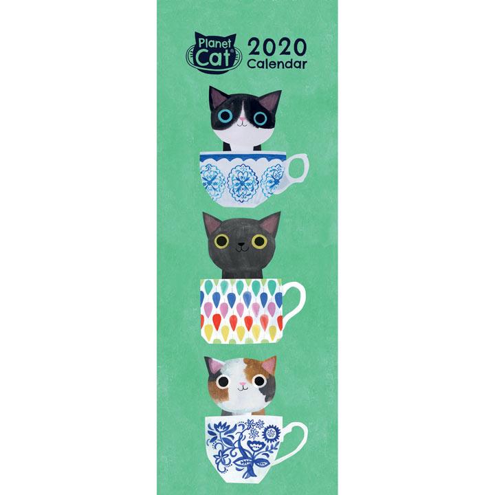 Planet Cat Slimline Calendar