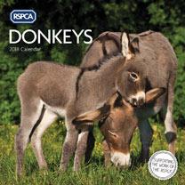 RSPCA Donkey Wall Calendar