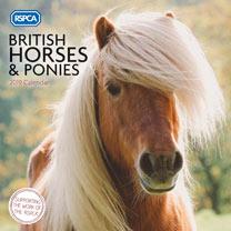 RSPCA Horses Wall Calendar