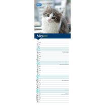 RSPCA I Love Kittens Slim Calendar