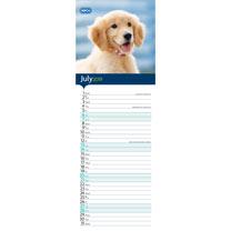 RSPCA I Love Puppies Slim Calendar