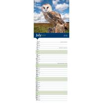 RSPCA British Wildlife Slim Calendar