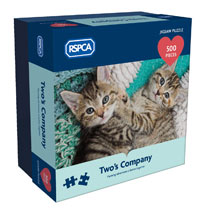 RSPCA Jigsaw Puzzle - Two's Company