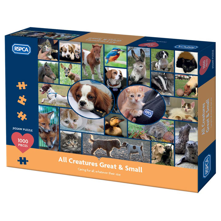 RSPCA All Creatures Jigsaw Puzzle