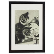 RSPCA Framed Art - Cat
