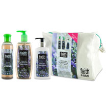 Faith in Nature - Lavender & Geranium Wash Bag