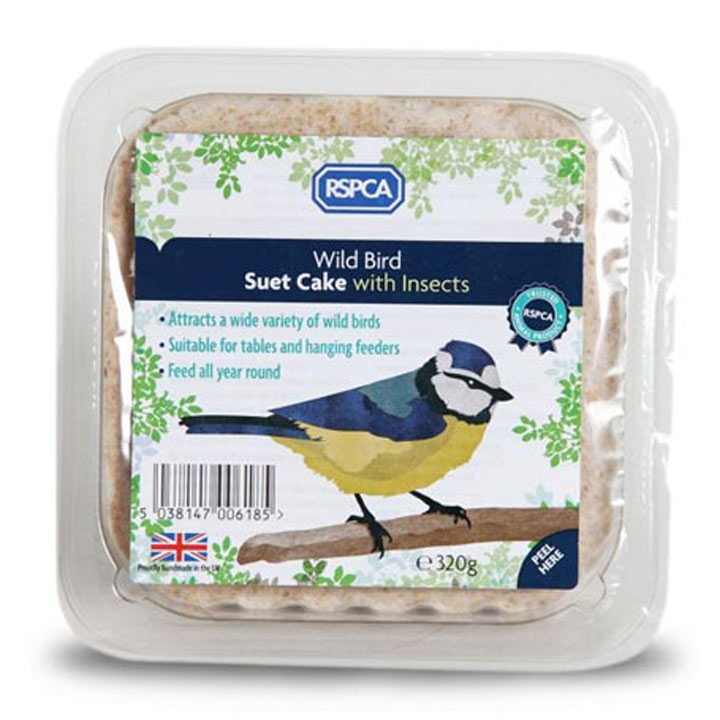 RSPCA Suet - Cake with Insects