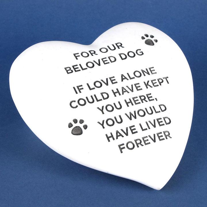 RSPCA Memorial Stone Heart