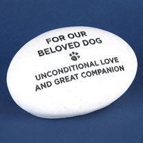 RSPCA Memorial Pebble - Dog
