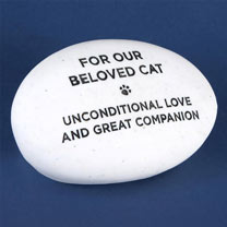 RSPCA Memorial Pebble - Cat