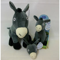 Soft Toy or Keyring/Bag Charm - Albert Donkey