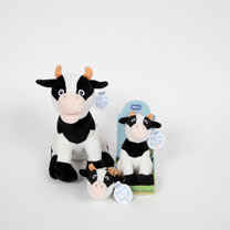 Soft Toy or Keyring/Bag Charm - Daisy Cow