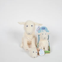 "Soft Toy 10"" - Lucy Lamb"