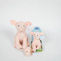 Soft Toy or Keyring/Bag Charm - Penelope Pig