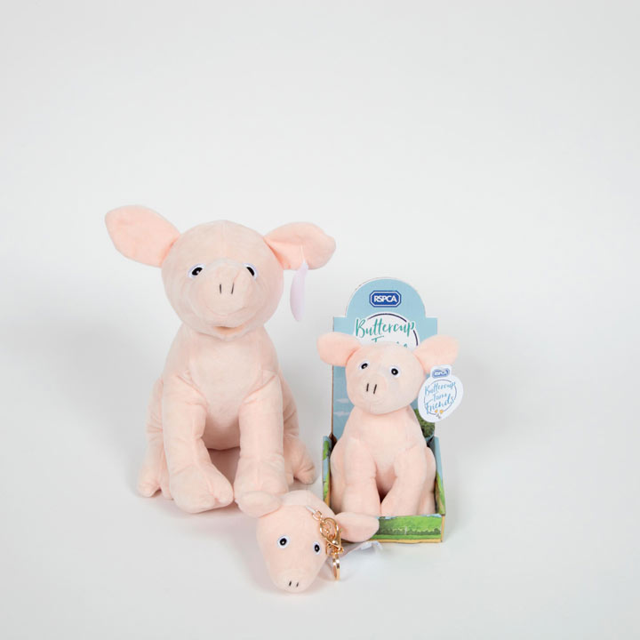 "Soft Toy 7"" - Penelope Pig"