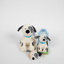 Soft Toy or Keyring/Bag Charm - Rufus Puppy