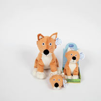 Soft Toy or Keyring/Bag Charm - Seymour Fox