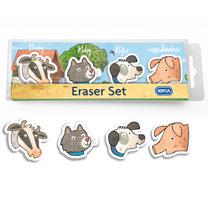 RSPCA Eraser Set