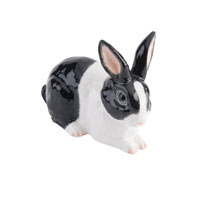 RSPCA Adorables - Black & White Rabbit