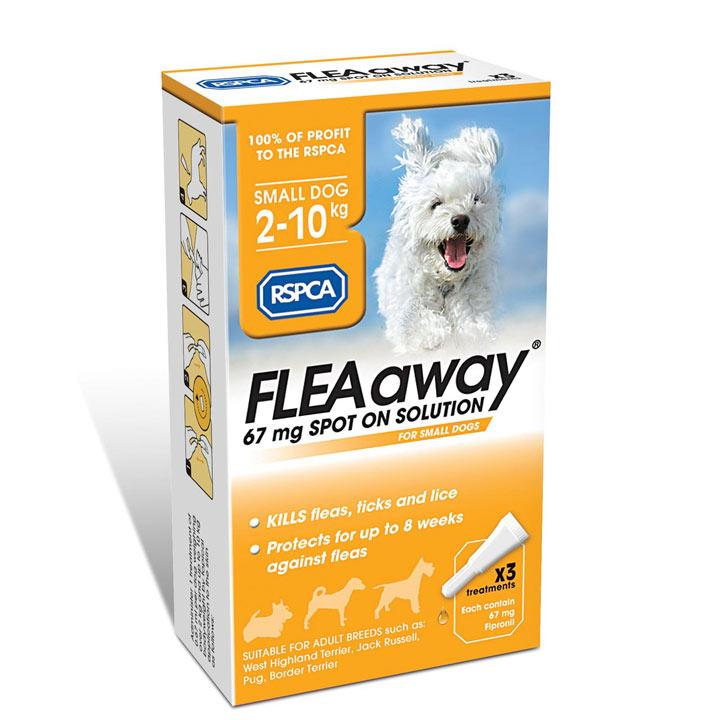 RSPCA FLEAaway - Small Dog