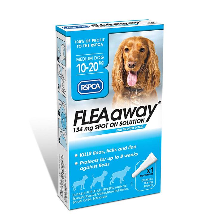 RSPCA FLEAaway - Medium Dog