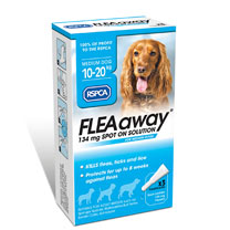 RSPCA FLEAaway - Medium Dog