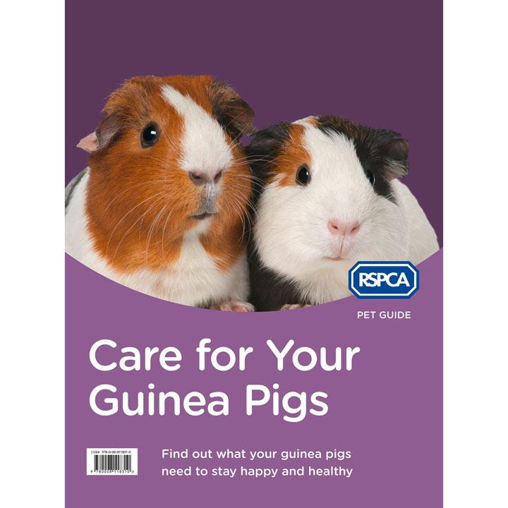 RSPCA Guinea Pig Book
