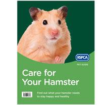 RSPCA Hamster Book