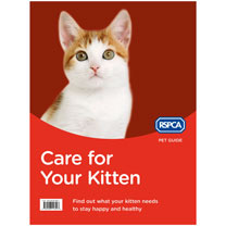 RSPCA Kitten Book