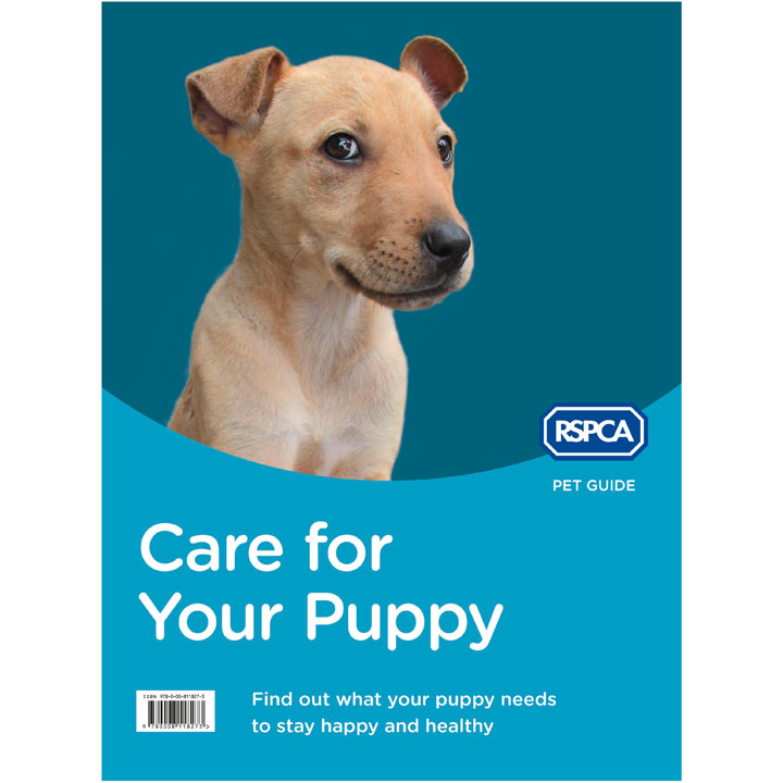 RSPCA Puppy Book