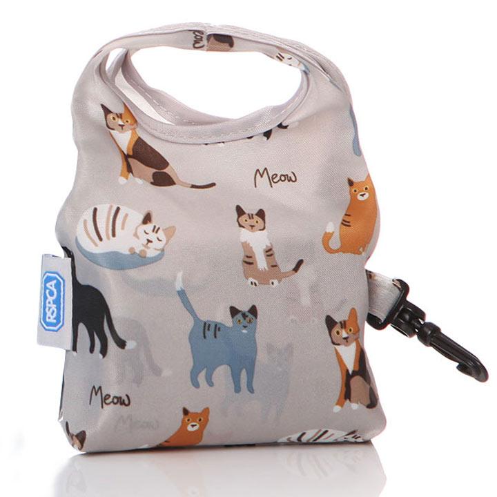 RSPCA Meow - Fold-up Shopper Bag