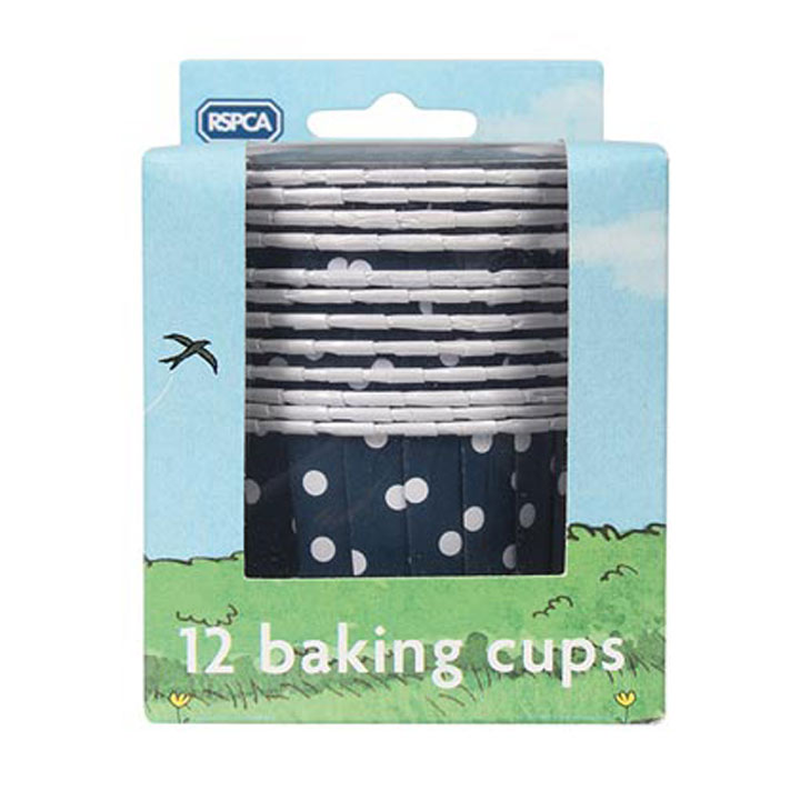 Baked with Love RSPCA Baking Cases - 12 Pack