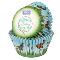 Baked with Love RSPCA Cupcake Cases - 25 Pack