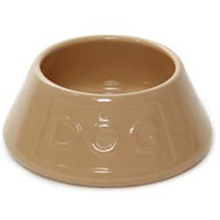 RSPCA Lettered Non Tip Dog Bowl