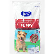 RSPCA Complete Puppy Food - 4 x 2kg