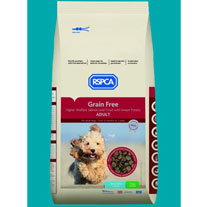 RSPCA Grain Free Higher Welfare Adult Dog Food - 15kg Clear Sack