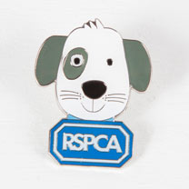 Rufus the Puppy Pin Badge