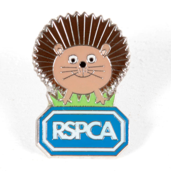 Harry the Hedgehog Pin Badge