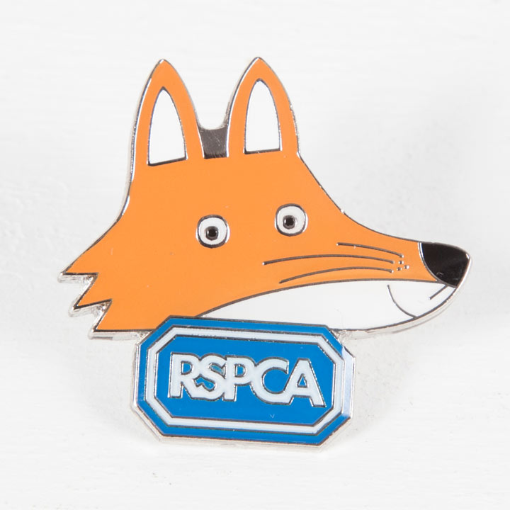 Seymour the Fox Pin Badge