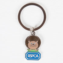 Harry the Hedgehog Keyring