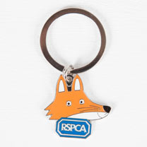 Seymour the Fox Keyring