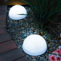 LED Dome Solar Lights