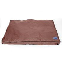RSPCA Large Waterproof Dog Mattress - Chocolate Brown