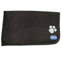 RSPCA Fleece Pet Blanket with Paw Print