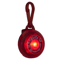 Rogz RogLite Safety Light - Red