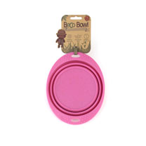 Beco Dog Travel Bowl - Small Pink